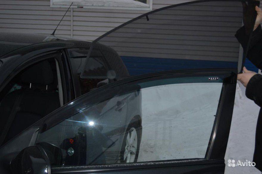 Каркасные шторки для авто своими руками видео