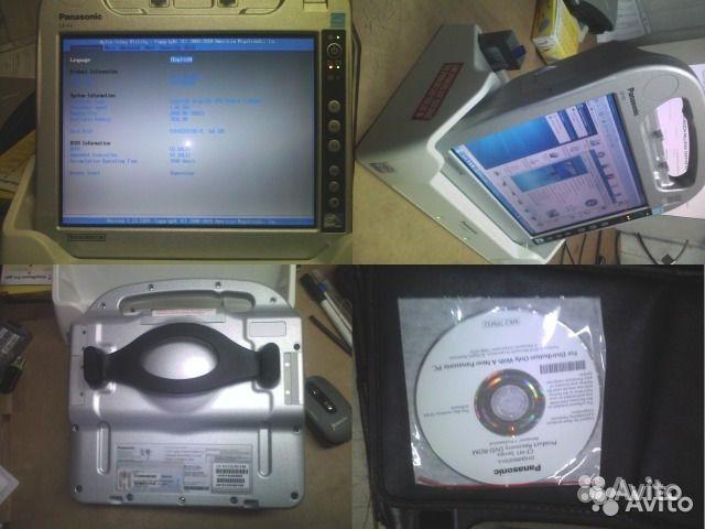 Защищенный ноутбук планшет Panasonic CF-H1 C-H2. Ханты-Мансийский АО, Сургут