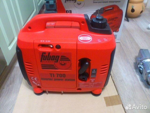 Бензиновый генератор fubag ti 700 бензиновый