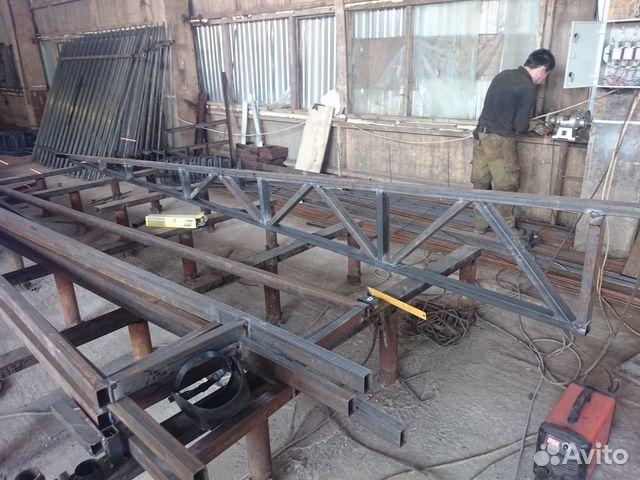 Фермы металлические из профильной трубы купить в Пермском крае на Avito - Объявления на сайте Avito