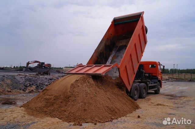 Грунт, тораф, песок, щебень- фотография 1
