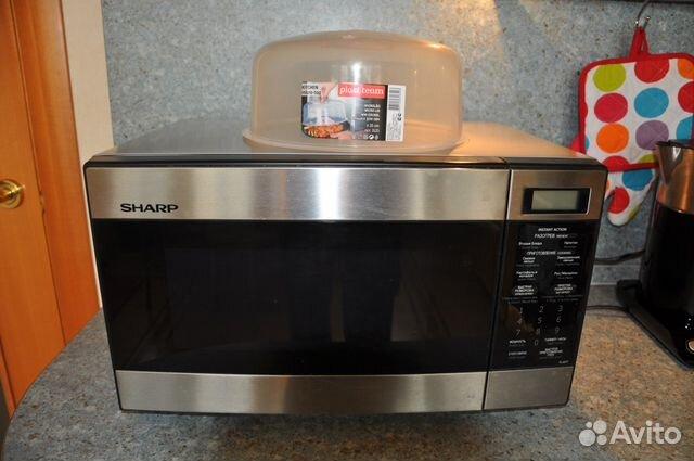 Микроволновая печь Sharp R-