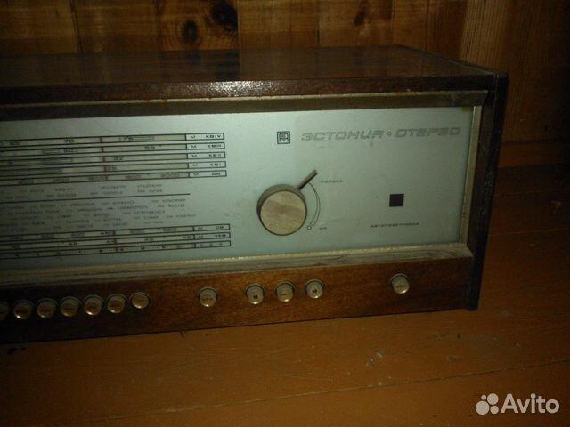 "радиолу ""Эстония-стерео"""