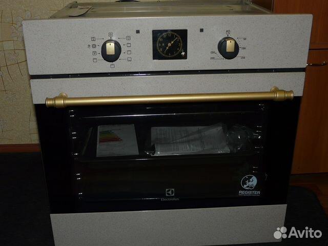 Авито встраиваемый электрический духовой шкаф