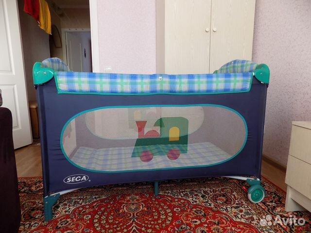Манеж кроватка