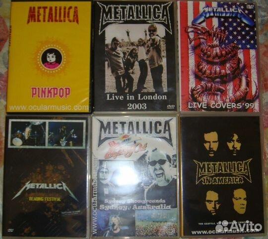 Продаю двд гр. Metallica 89379639576 купить 1