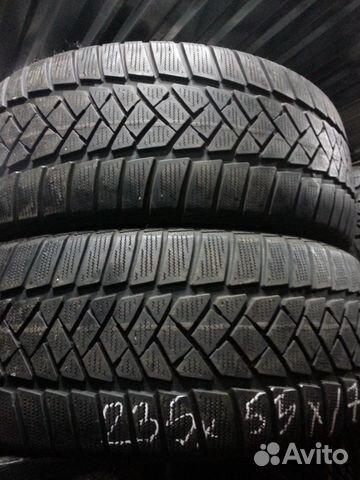 Dunlop sp winter sport 235/55 r 17 (протектор 6мм)-2шт