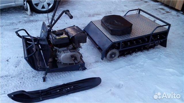 Снегоход рыбак 2мр чертежи
