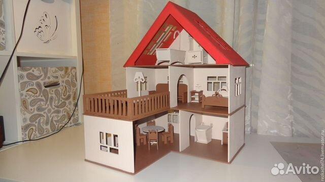 Кукольные домики своими руками фото из фанеры  476