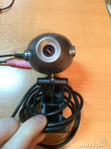 A4tech pcc 35n mini clip on webcam