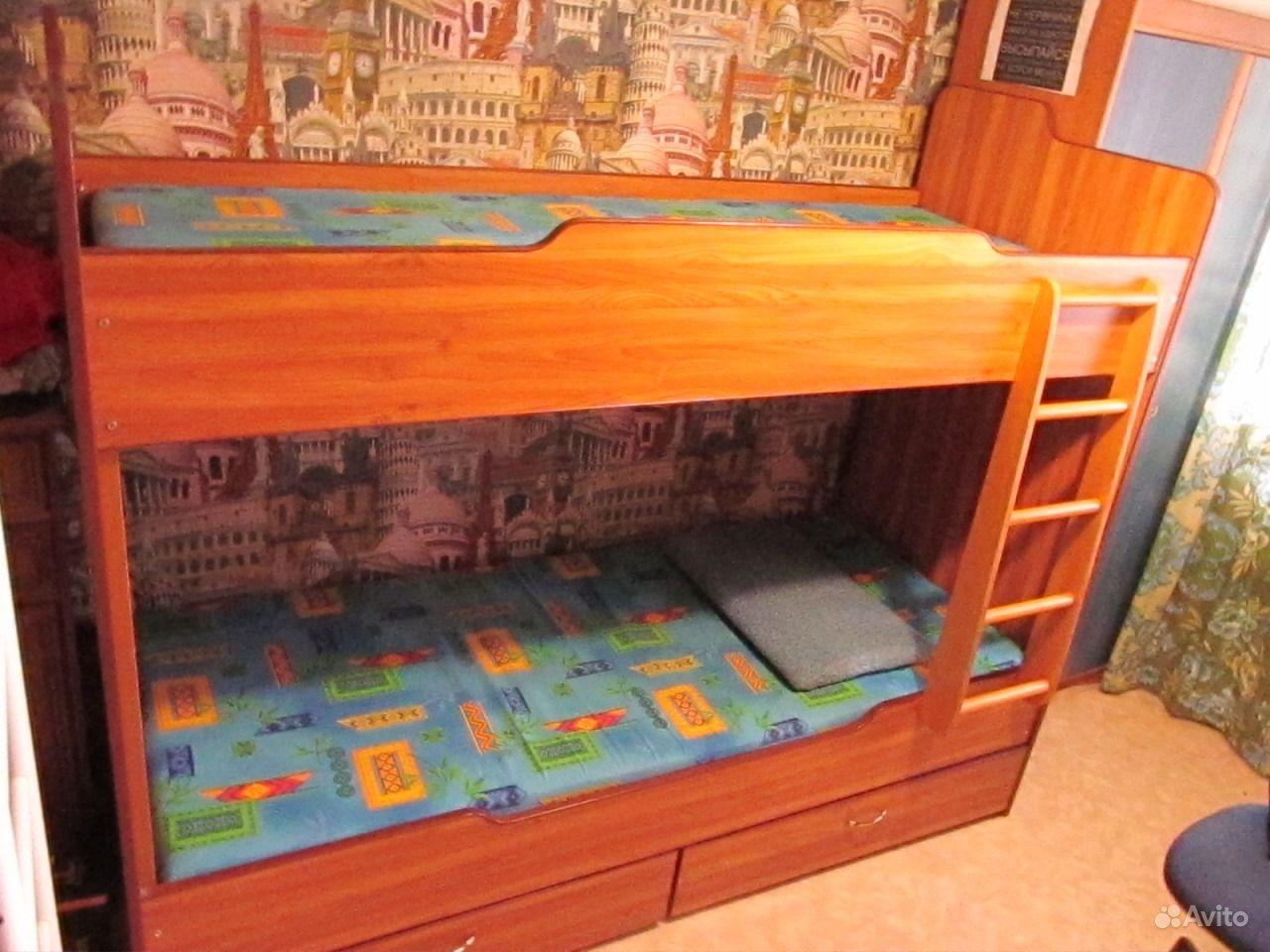 Двухъярусная кровать самара  бу