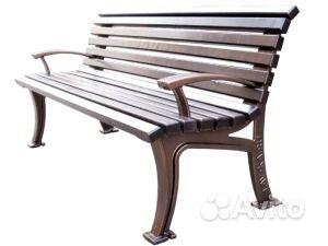 Уличные скамейки купить на Вуёк.ру - фотография № 5