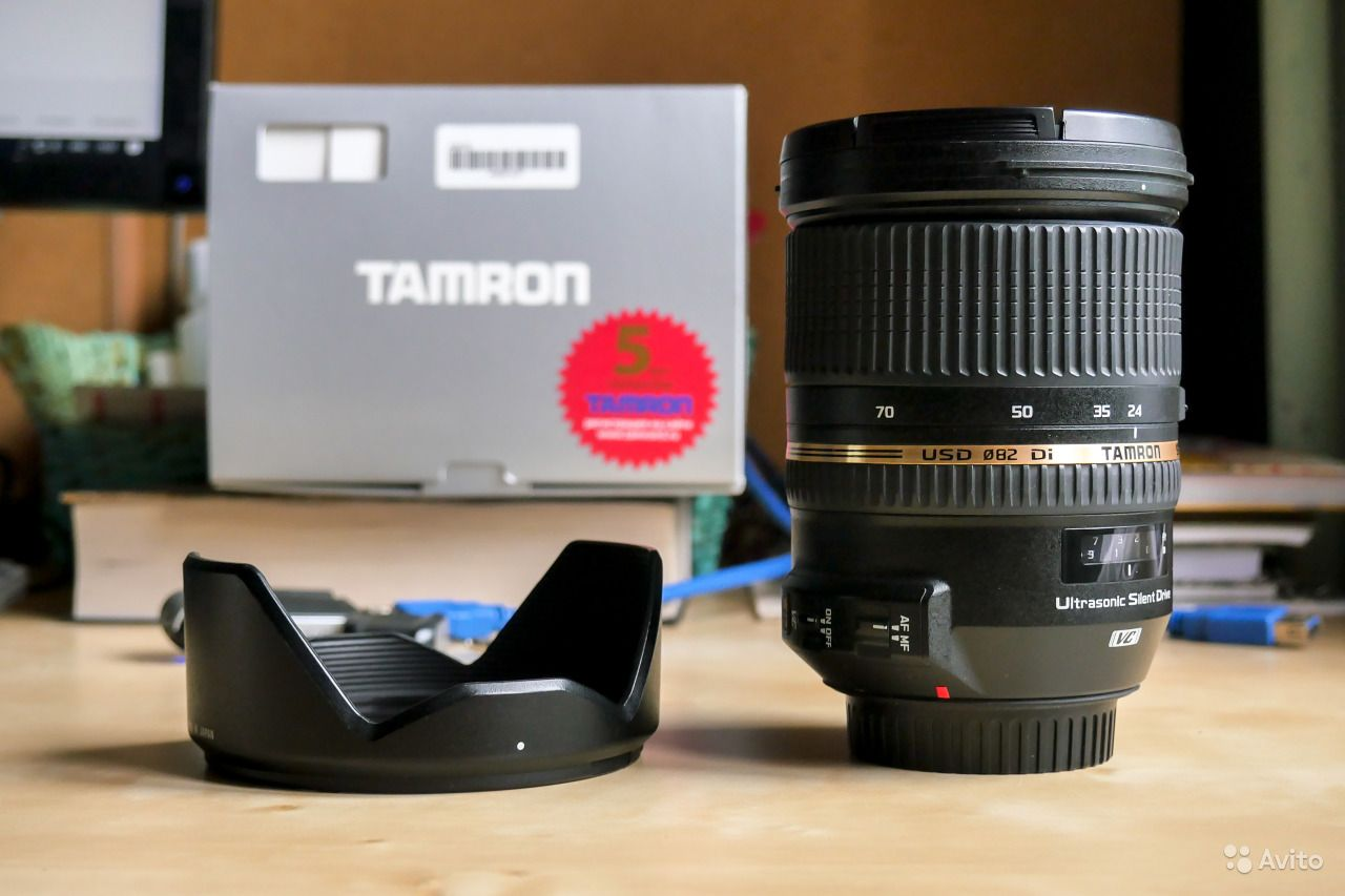 Tamron AF SP 24-70mm f/2.8 DI VC USD for Canon