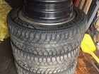 195/65/15 шины Bridgestone с дисками от Мазда 6 GG
