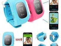 Детские часы с GPS трекером и SIM картой Smart Bab