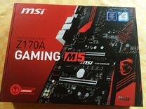 MSI z170a gaming m5 — Товары для компьютера в Энгельсе