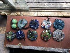 Стеклянные камни для аквариума
