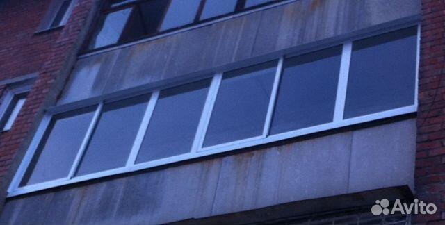 Трехполозная раздвижная система остекления балконов..