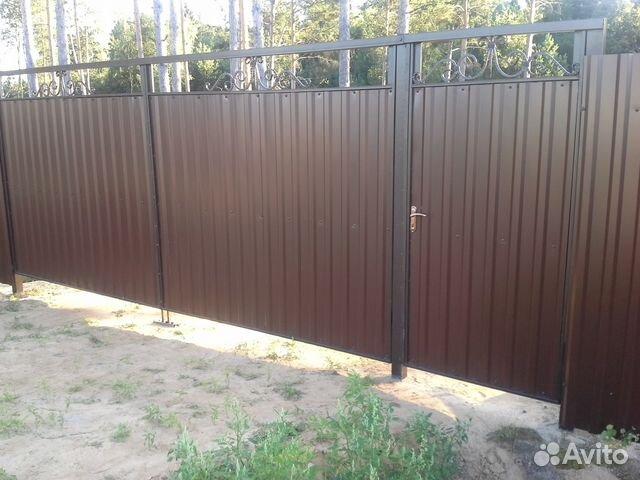 Аксессуары для ворот и калиток из профнастила дачные ворота и калитка фото