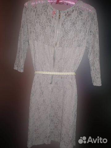 Платье остин кружевное