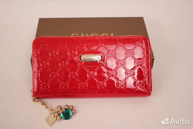 c9aa9997134e Gucci женский кошелек на молнии купить в Москве на Avito ...