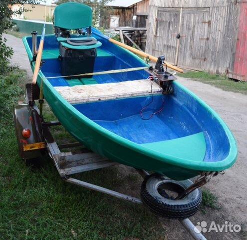 купить рыболовную лодку на авито