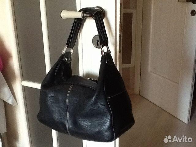 Женская сумка Prada Double Bag матовая черная   Festima.Ru ... 854658a98d1