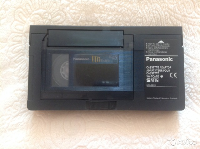Адаптер для видеокассет vhs купить в Кемеровской области на avito ZC92