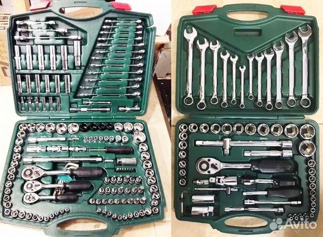 купить набор ключей и головок в чемодане