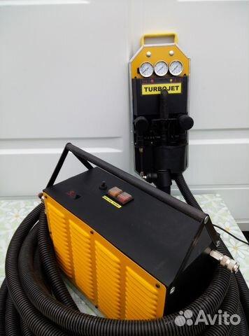 Professional equipment for penoizol