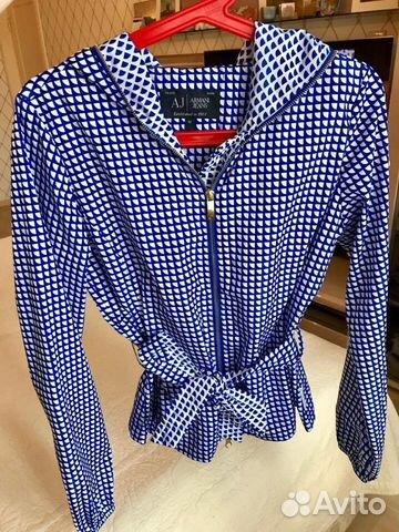 Куртка ветровка Armani Jeans, новая, 42-44р купить в Москве на Avito ... 21937a15277