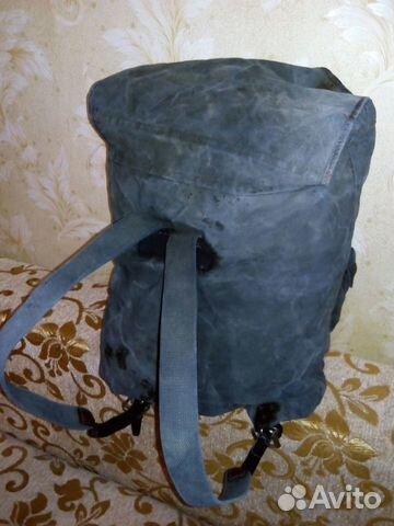 Брезентовый рюкзак б/у камуфляжный рюкзак adidas