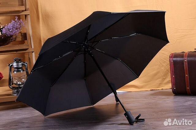 94522234d1d7 Зонт складной Классика автомат черный | Festima.Ru - Мониторинг ...