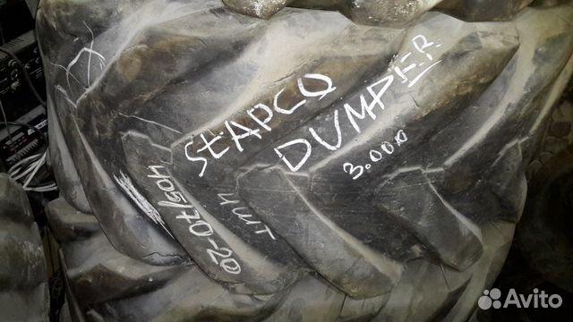 89805377242 405 70 R20 dumpper stapco 4 штуки б/у
