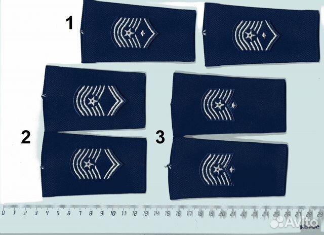Погоны и прищепки для галстука ввс вмф США 89103610992 купить 1