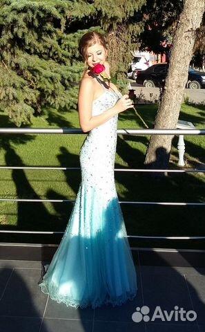 Продаю вечернее платье, на выпускной   Festima.Ru - Мониторинг ... 87414628bc3