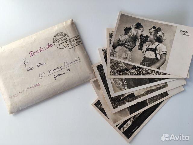 Пожеланием, продам немецкие открытки 40-х годов