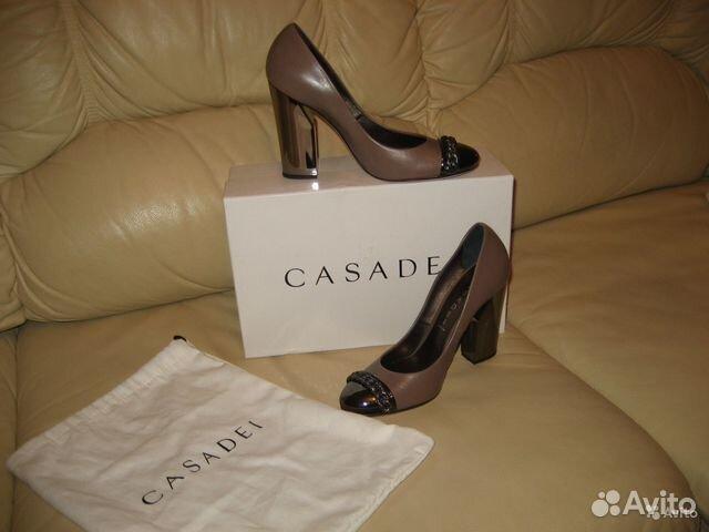 e7fa1edd0778 Новые шикарные туфли Casadei оригинал 38 размер купить в Санкт ...