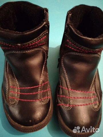 ef53b741e Ботинки демисезонные кожаные купить в Московской области на Avito ...