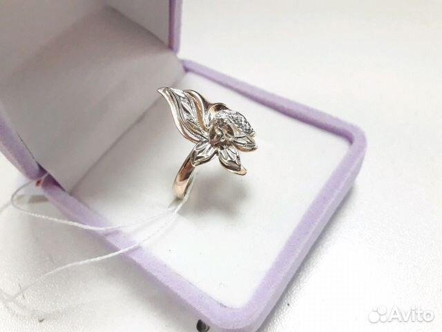 Золотое кольцо с бриллиантом купить в Свердловской области на Avito ... 648ee4fa091