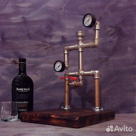 Дозатор для алкогольных напитков в стиле Лофт 89213975985 купить 1