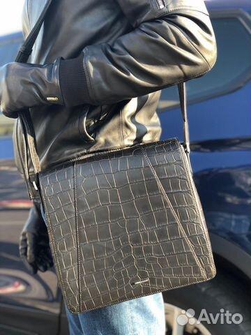 dd446e346cb8 Мужская сумка Zilli из кожи крокодила | Festima.Ru - Мониторинг ...