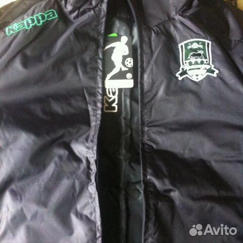 4d0297b2163 Новая футбольная куртка Каппа фк