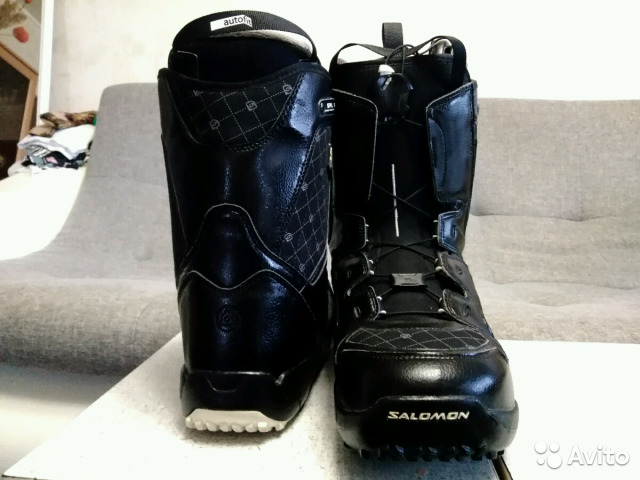a83bf550712f Ботинки для сноуборда salomon купить в Краснодарском крае на Avito ...