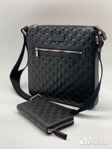 e987d40796b2 Мужская сумка через плечо Gucci купить в Москве на Avito ...