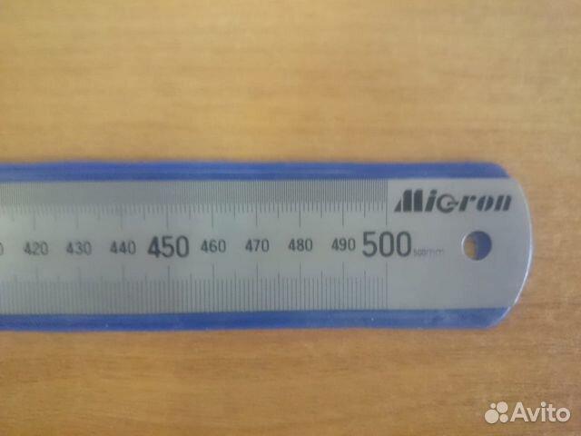 Линейка металлическая micron 89878457217 купить 2