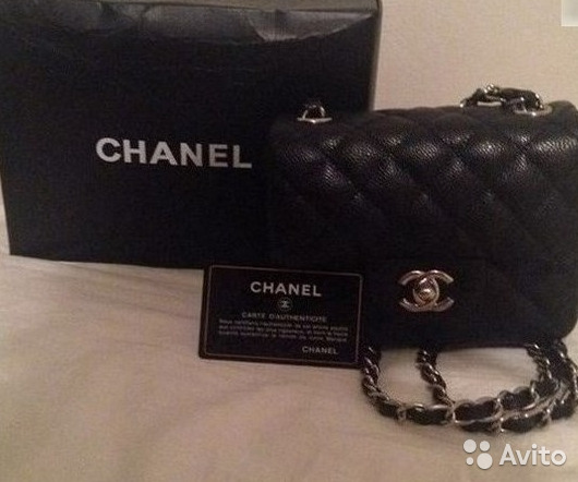 a64cc1df1160 Сумка Chanel Mini Flap Bag Черная Mini 2.55 купить в Москве на Avito ...