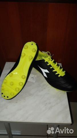 0deb1cf8 Бутсы размер 40 новые для футбола и регби Diadora— фотография №1