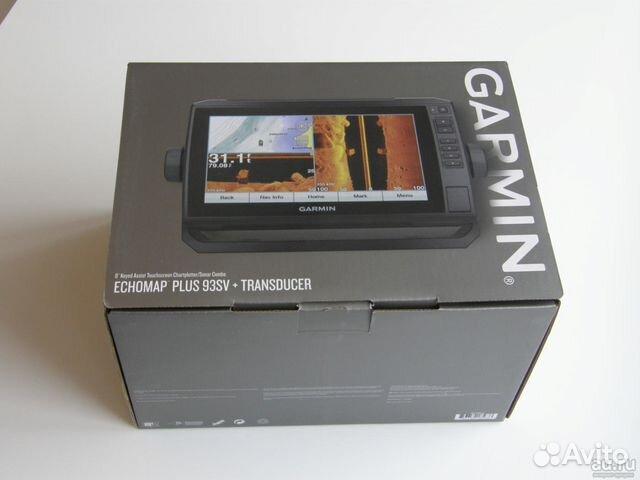 Картплоттер Garmin Echomap plus 93SV with cv52 купить в Самарской
