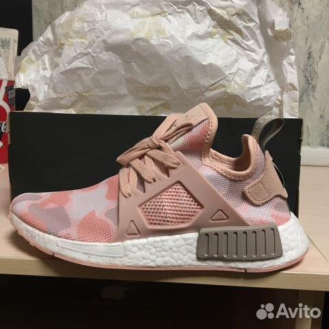 reputable site a235b 56c21 Кроссовки Adidas NMD XR1 Pink Camo